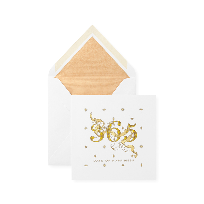 365 Days Of Happiness Christmas Card