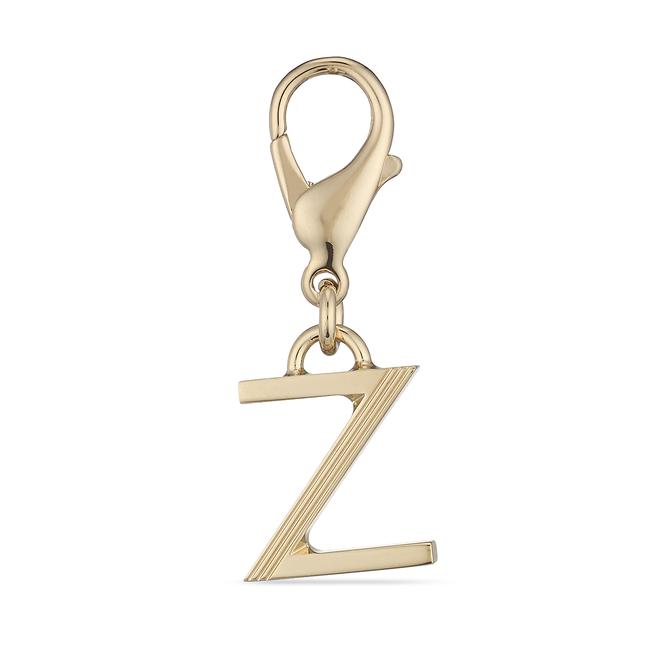 St. Germain Z Alphabet Charm Light Gold