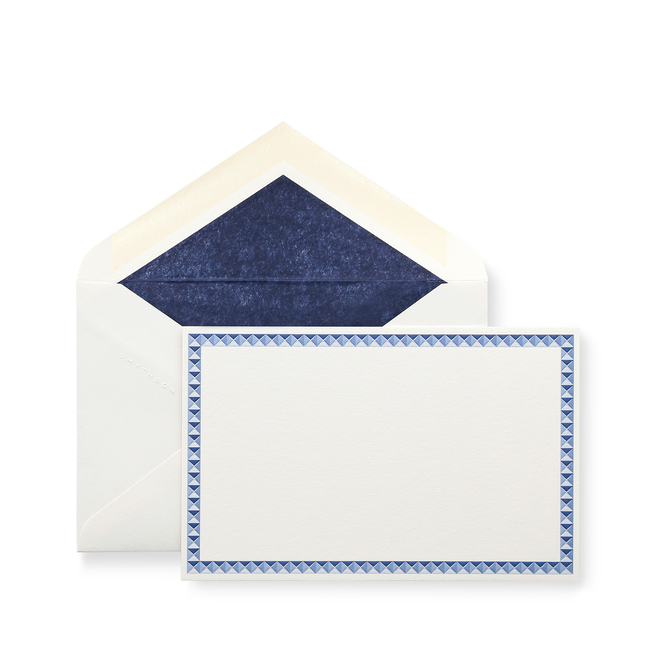 Studded Border Correspondence Cards
