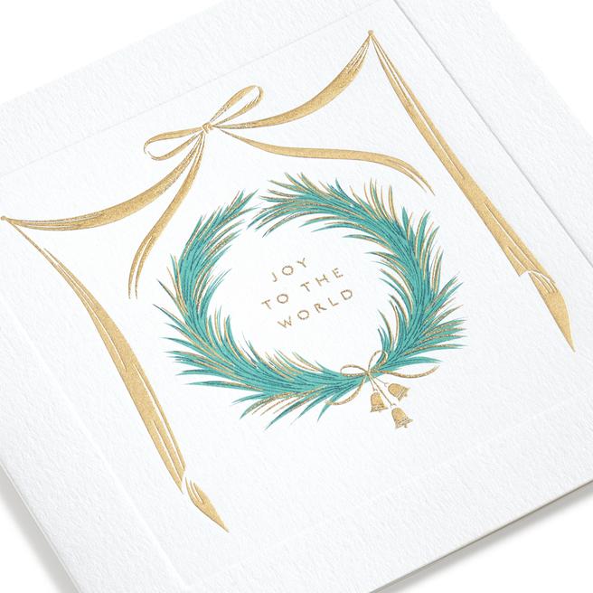 Wreath Christmas Cards