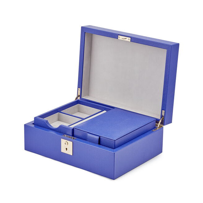 Grosvenor Jewellery Box with Travel Tray