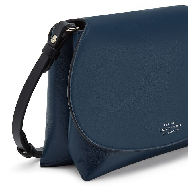Pillow Crossbody Bag in Smooth Leather