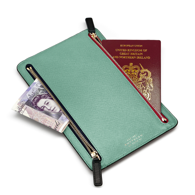 Panama Zip Currency Case