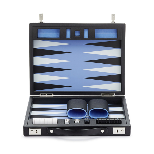 Grosvenor Travel Backgammon Set