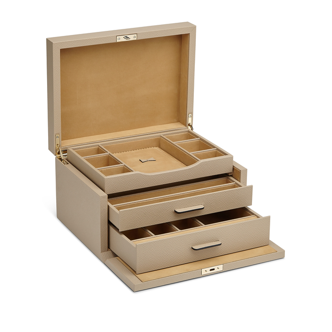 Panama 3 Drawer Jewellery Box