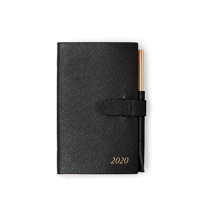 2020 Panama Diary with Gilt Pencil