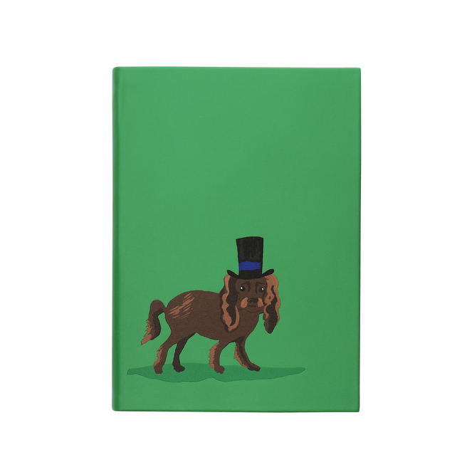Dog Top Hat Soho Notebook