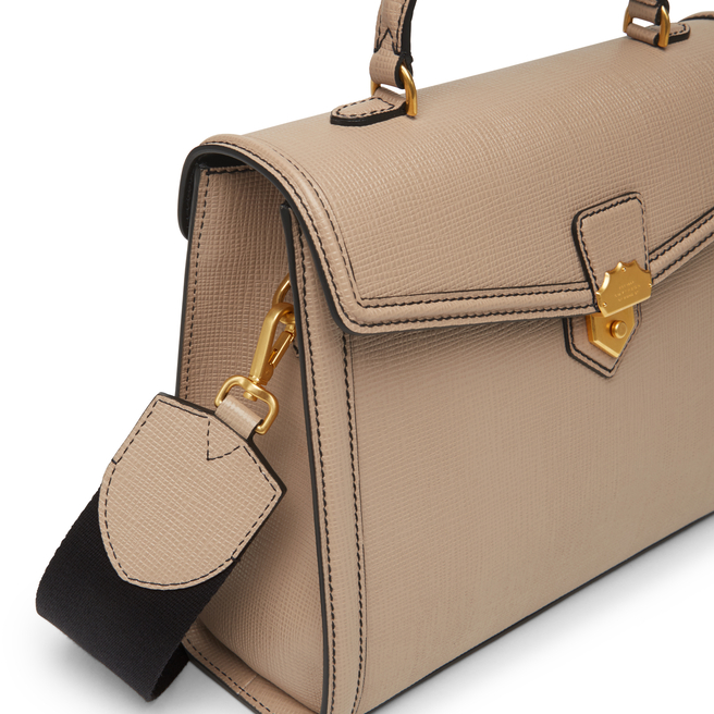 Panama Medium Coronet Top Handle Bag