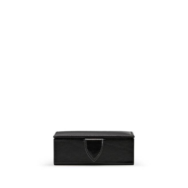 Mini Cufflink Box in Box Calf Leather