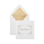 Model Dye Frame Congratulations Card