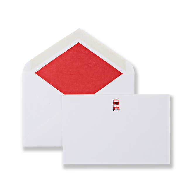 London Bus Correspondence Cards