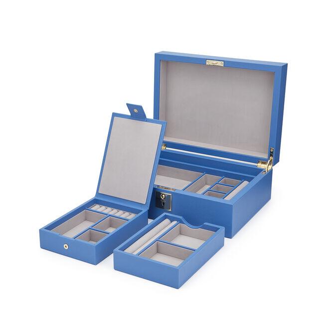 Grosvenor Jewellery Box with Travel Tray