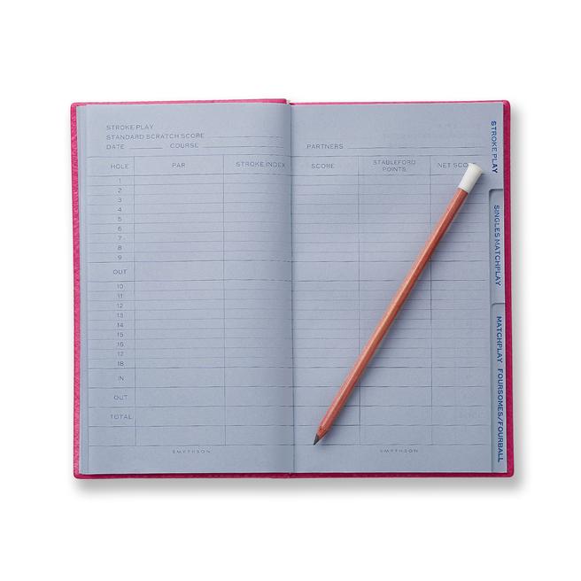 Golf Notes Panama Notebook Fuchsia