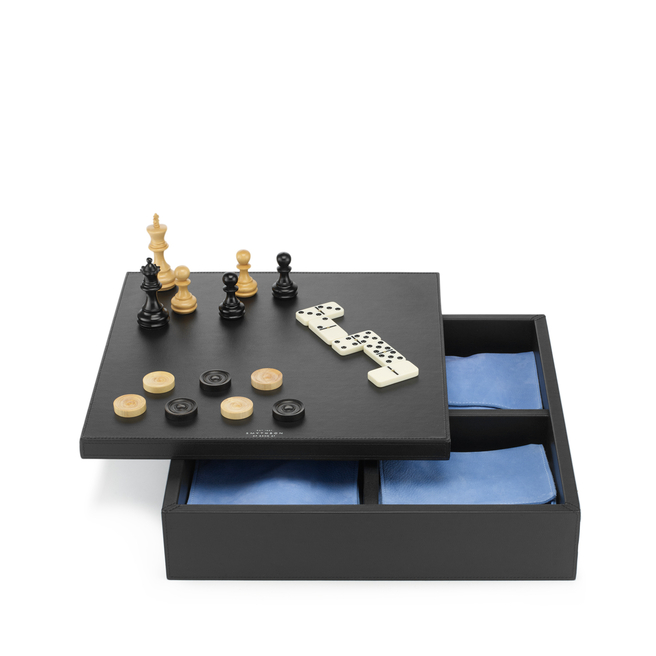Grosvenor Triple Game Box