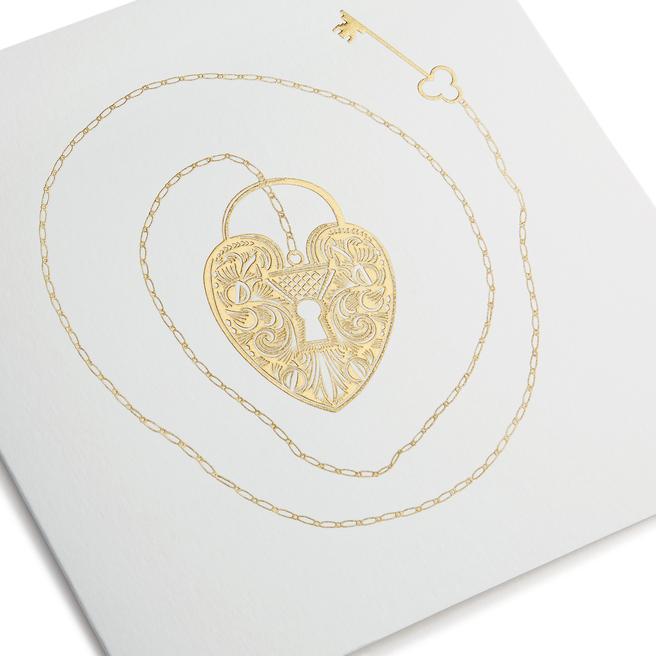 Locket Valentine's Day Card