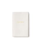 Jingle belles' wafer notebook