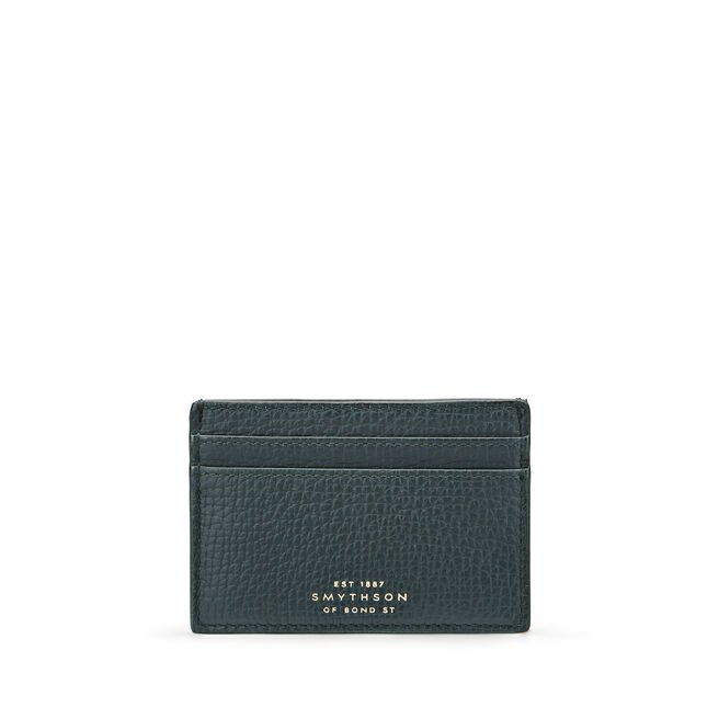 Card Holder in Large Grain Leather