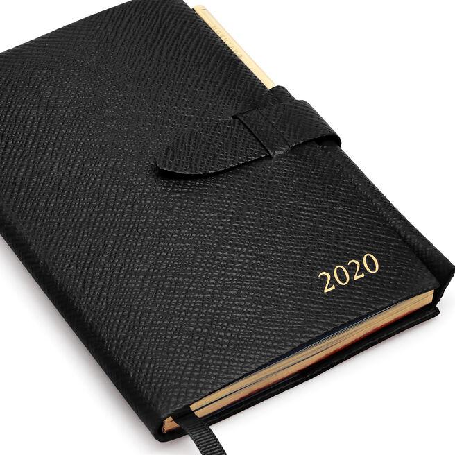 2020 Panama Agenda with Gilt Pencil
