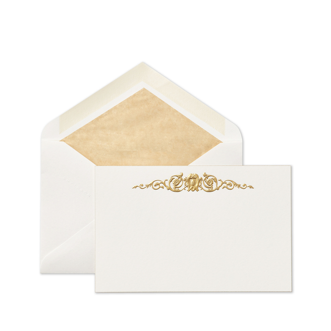 Stucco Baroque Correspondence Cards