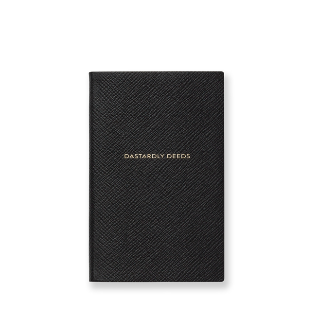 Dastardly Deeds Panama Notebook