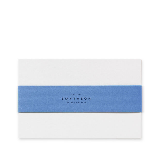 White Laid Kings Correspondence Cards