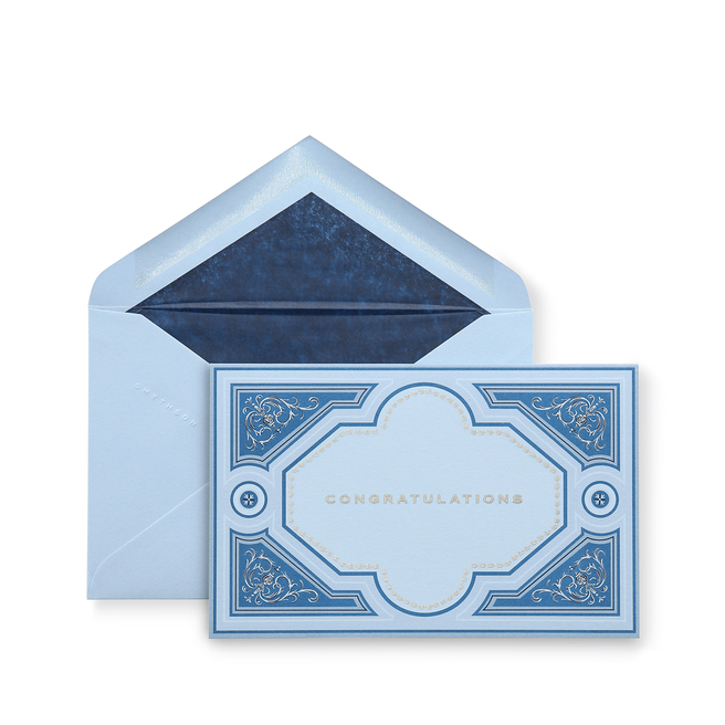 Congratulations Embossed Card