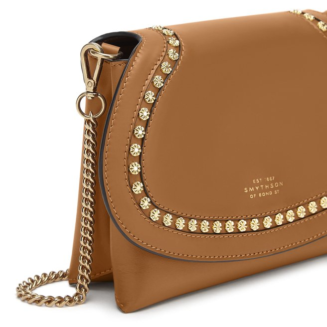 Saddle Studs Pillow Crossbody Bag