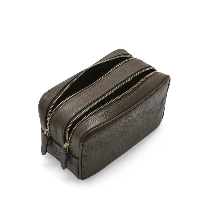 Ludlow Double Zip Washbag