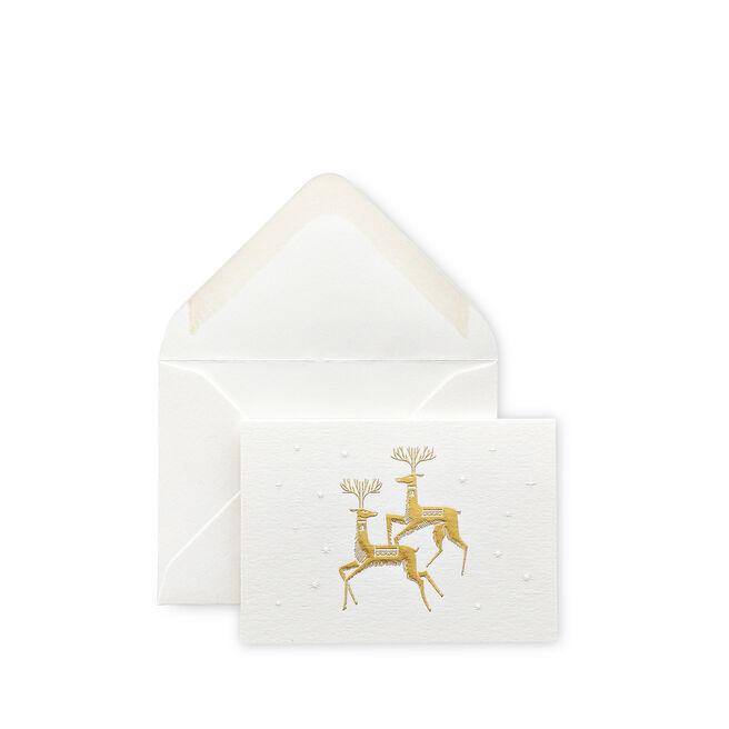 Reindeer Christmas Gift Cards