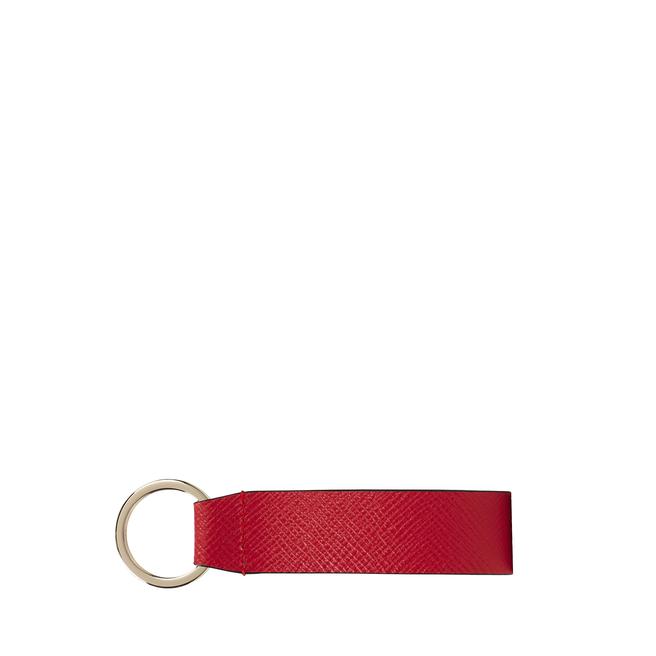 Panama Leather Strap Keyring