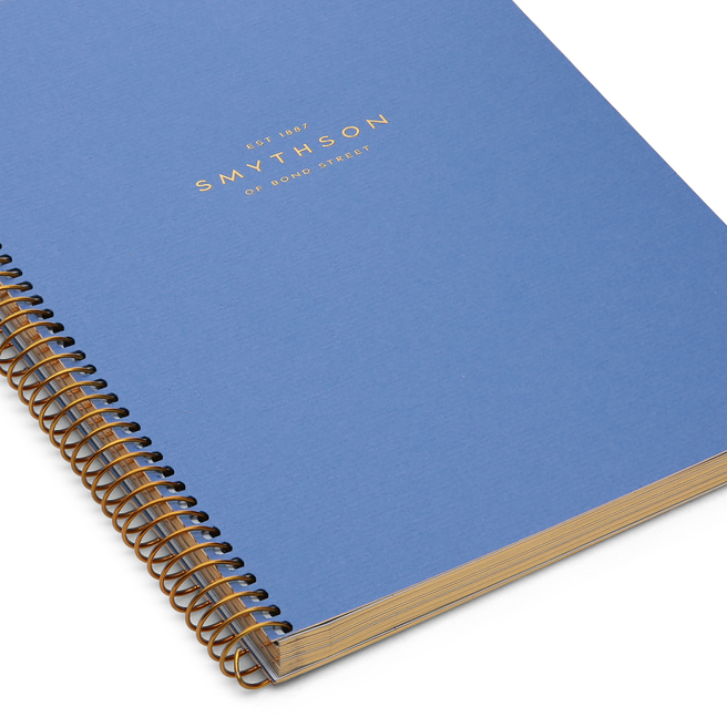 A5 Gold Spiral Bound Refill Pad