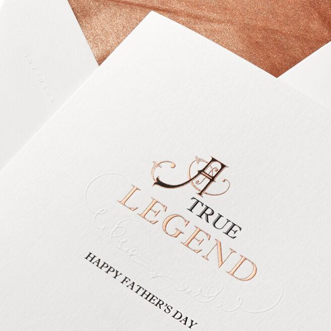 A True Legend Father'S Day Card