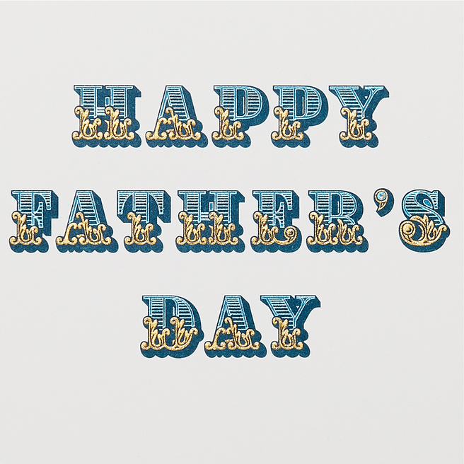 Circus Father's Day Card