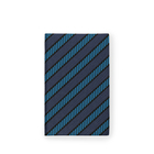 Diagonal Print Panama Notebook