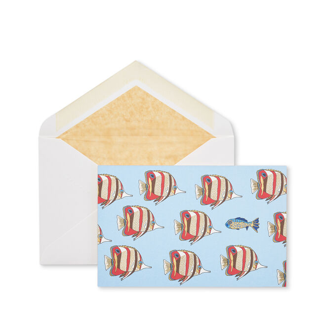 Fish Correspondence Cards