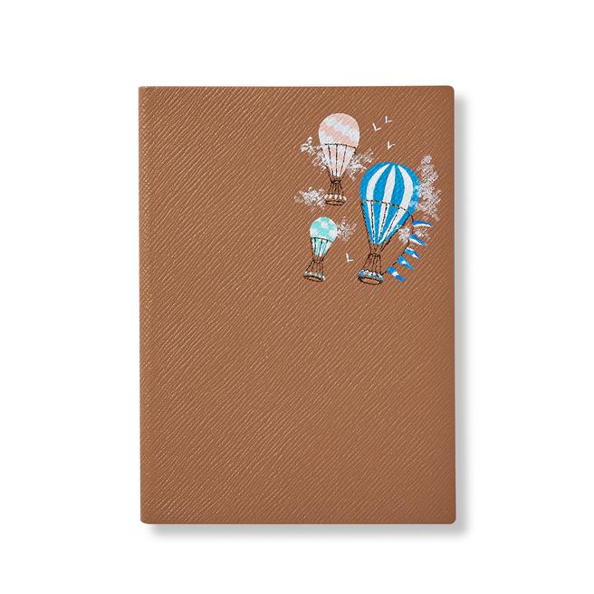 Hand Painted Chelsea in Bloom Soho Notebook