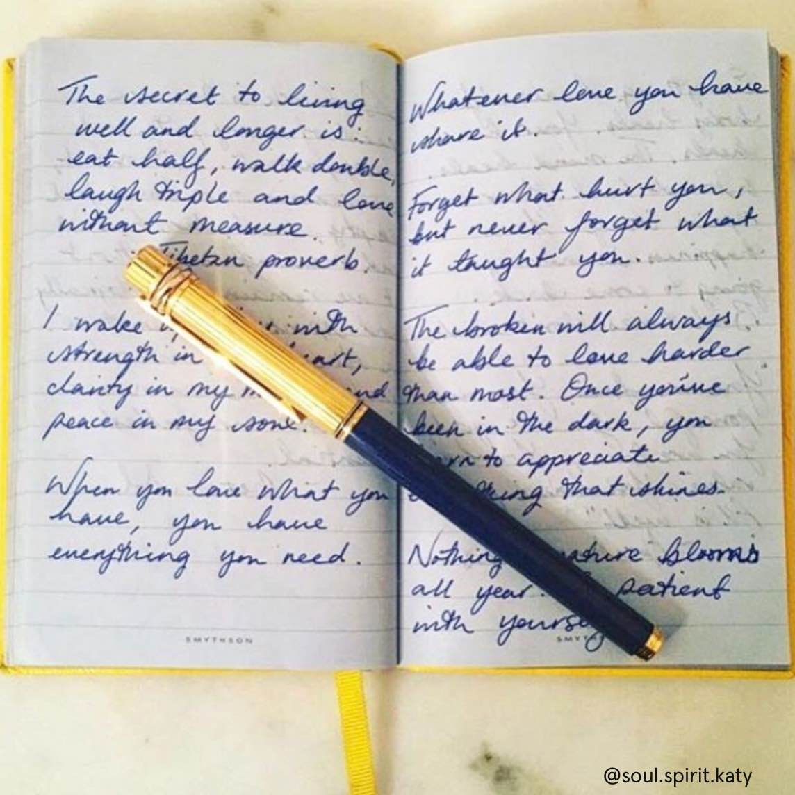 Correspondence with Character